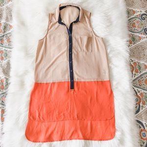 Lush Women's Colorblock Sleeveless Tunic M